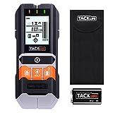Ortungsgerät Tacklife DMS05 Metalldetektor 4 in 1 Wand Scanner Detektor Stud Finder mit Großer LCD Hintergrundbeleuchtung mit Schutztasche für Stromleitung Holz Metall und Feuchtigkeit