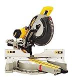 DeWalt Paneelsäge 1675W DWS780 inkl. Zubehör - Mit 305x30 mm HM-Sägeblatt ideal für den Innenausbau - Hohe Schnittkapazität & LED Schnittlinien Anzeige