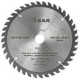 S&R Kreissägeblatt 160mm x 20mm x 2,2 mm 48T'Wood Craft' Reduzierring 16mm, Sägeblatt Holz in Profiqualität
