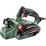 Bosch Handhobel PHO 2000, Hobelmesser, Karton (680 W, Hobelbreite 82 mm, Spantiefe 0 - 2,0 mm, Falztiefe 0 - 8 mm)