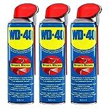 3x 500ml WD-40 Smart Straw Multifunktionsöl Öl Multifunktionsprodukt Vielzweckspray Schmiermittel Rostlöser Kriechöl Sprühöl Schmieröl Dose mit integrierten Sprühkopf