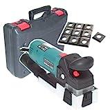 55187 Lackfräse 710W + 10 Ersatzmesser inkl. Koffer mit Haltegriff, Lackschleifer Fräse Schleifgerät Koffer AWZ, Hobel Elektrohobel