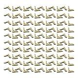 NUOBESTY 150 Stücke Metall Buch Eckenschutz Buchecken Metallecken Buch Schutzecken Antikbeschlag Bronze Buchbeschlag für Album Tagebuch Menübuch Notebook