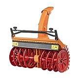 Bruder 02349 Zubehör: Schneefräse, orange