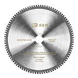 S&R Kreissägeblatt 254 x 30 x 3,2 mm 96T Multimaterial Uni Cut, 96 Hartmetallzähne, HM-Sägeblatt